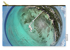 Carry-all Pouch featuring the photograph Rum Point Little Planet by Adam Romanowicz