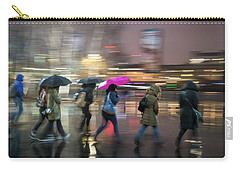 Run Between The Raindrops Carry-all Pouch