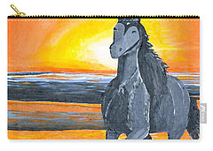 Run Free Carry-all Pouch by Donna Blossom