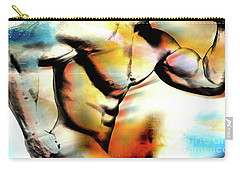 Abstract Nude Carry-all Pouches