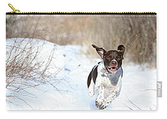 Run Millie Run Carry-all Pouch by Brook Burling