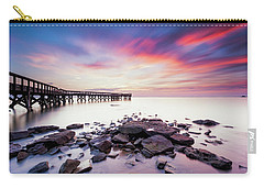 Carry-all Pouch featuring the photograph Run To The Sun by Edward Kreis
