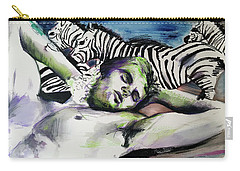 Runaway Zebra  Carry-all Pouch