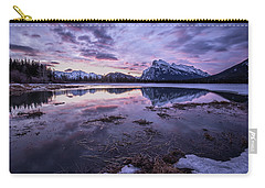 Rundle Mountain Skies Carry-all Pouch
