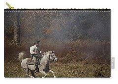 Running At Shooters Roost Carry-all Pouch