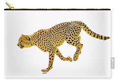 Running Cheetah 2 Carry-all Pouch
