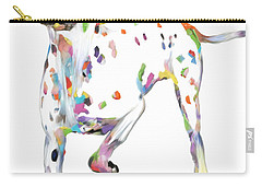 Running Dalmatian Carry-all Pouch