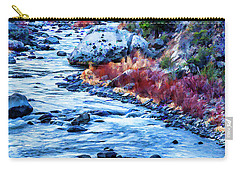 Running Dry Carry-all Pouch by Nancy Marie Ricketts