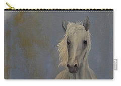 Carry-all Pouch featuring the painting Running Free by John Stuart Webbstock