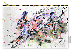 Running Hare Carry-all Pouch