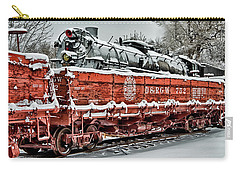 Carry-all Pouch featuring the photograph Running Out Of Steam by Jeffrey Jensen