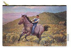 Runaway Roan Carry-all Pouch