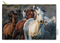 Running Through Carry-all Pouch by Joan Davis