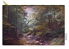 Carry-all Pouch featuring the photograph Running Waters by John Rivera