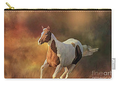 Running Wild Carry-all Pouch by Janette Boyd