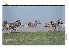 Running Zebras Carry-all Pouch