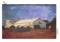 Carry-all Pouch featuring the photograph Rural Grain Elevator by Anna Louise