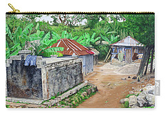 Rural Haiti - A Study In Poignancy Carry-all Pouch