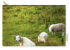 Carry-all Pouch featuring the photograph Rural Idyll. Wicklow. Ireland by Jenny Rainbow