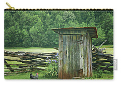 Rural Outhouse Carry-all Pouch