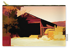Rural Pop No 1 Hay Shed And Tree Carry-all Pouch