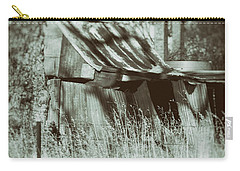 Carry-all Pouch featuring the photograph Rural Reminiscence by Linda Lees