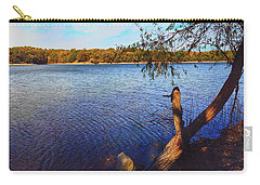 Carry-all Pouch featuring the photograph Rural Reservoir by Anna Louise