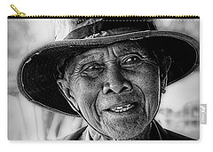 Rural Rice Farmer Carry-all Pouch