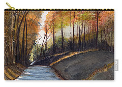 Rural Route In Autumn Carry-all Pouch