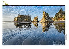 Ruby Beach Reflection Carry-all Pouch