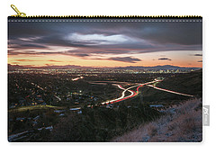 Rush Hour In Salt Lake City Carry-all Pouch