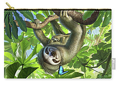 Tropical Plant Carry-all Pouches