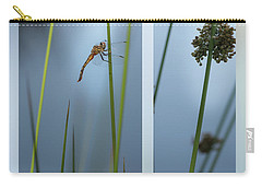 Rushes And Dragonfly Carry-all Pouch