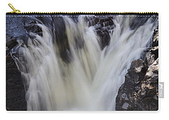 Carry-all Pouch featuring the photograph Rushing by Aimelle