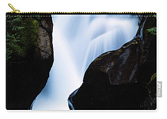Rushing Through The Rocks Carry-all Pouch