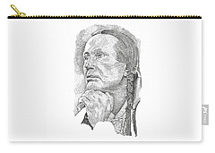 Russell Means Carry-all Pouch