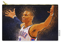 Russell Westbrook Carry-all Pouch by Semih Yurdabak