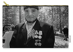Carry-all Pouch featuring the photograph Russian Afghanistan War Veteran by John Williams