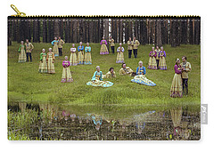 Russian Folk Group Carry-all Pouch by Vladimir Kholostykh