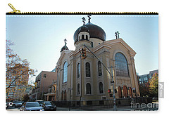 Russian Orthodox Cathedral Of The Transfiguration Of Our Lord Carry-all Pouch