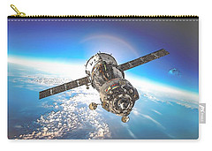 Majestic Blue Planet Earth Carry-all Pouch