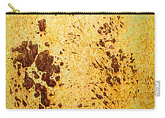 Carry-all Pouch featuring the photograph Rust Metal by John Williams