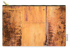 Rust On Metal Texture Carry-all Pouch by John Williams