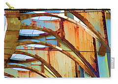 Rust Pavilion World's Fair 1964 Ny Carry-all Pouch