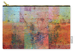 Carry-all Pouch featuring the painting Rust Study 1.0 by Michelle Calkins