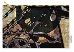 Rusted Gears 2.0 Carry-all Pouch by Michelle Calkins