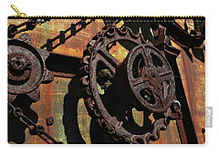 Rusted Gears Carry-all Pouch by Michelle Calkins