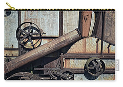 Rusted In Time Carry-all Pouch by Michelle Calkins