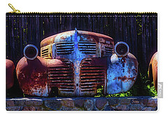 Rusted Out Old Cars Carry-all Pouch by Garry Gay