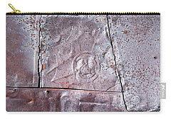 Rusted Tin Carry-all Pouch